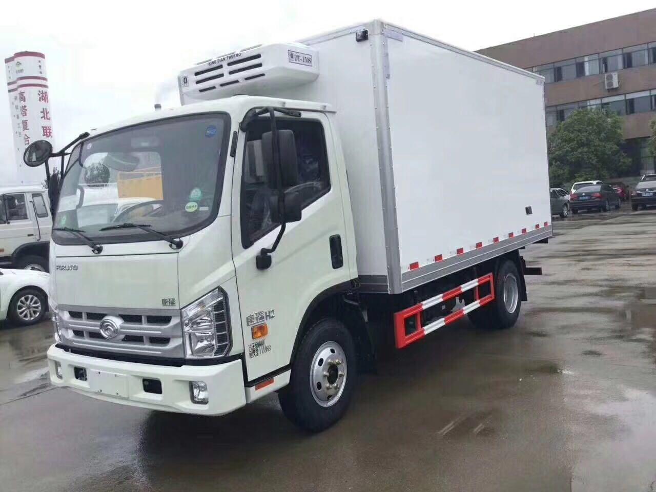 福田康瑞 4米2冷藏车