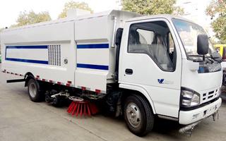 東風天錦16噸洗掃車廠家直銷價格優惠