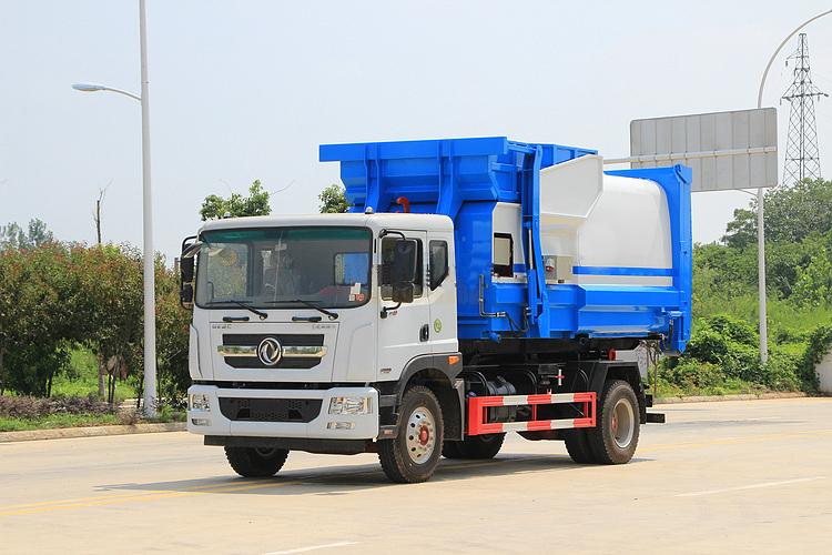 東風D9可移動式壓縮垃圾站廠家在線視頻