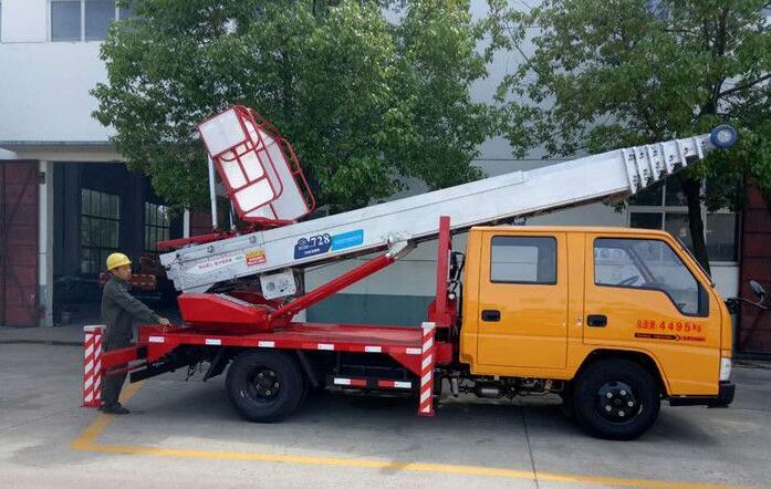韩国整装进口28-38米云梯车厂家直销