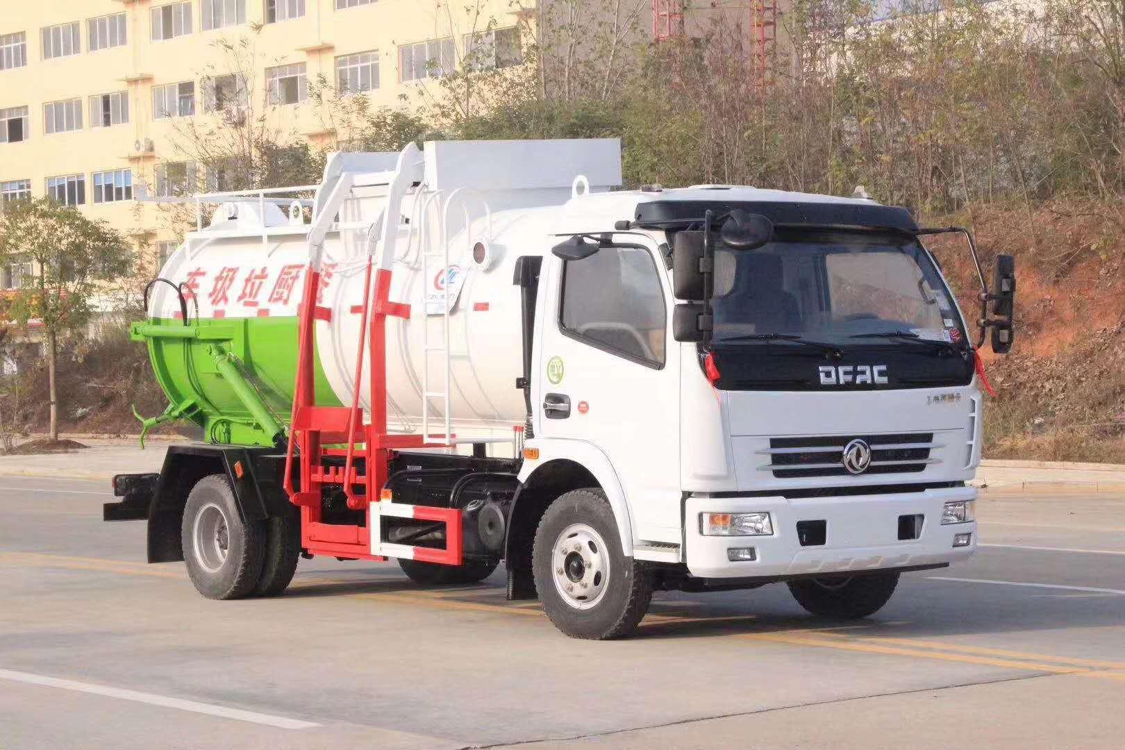 東風國六餐廚垃圾車 餐廚垃圾車廠家價格視頻