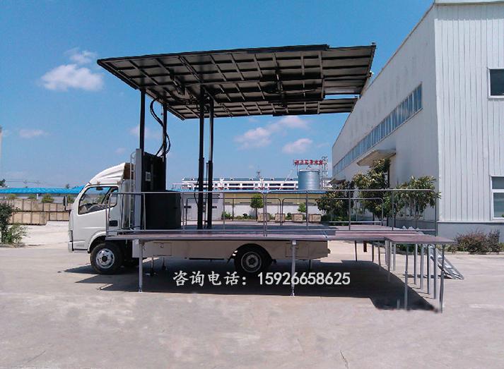 东风福瑞卡4.2m舞台车