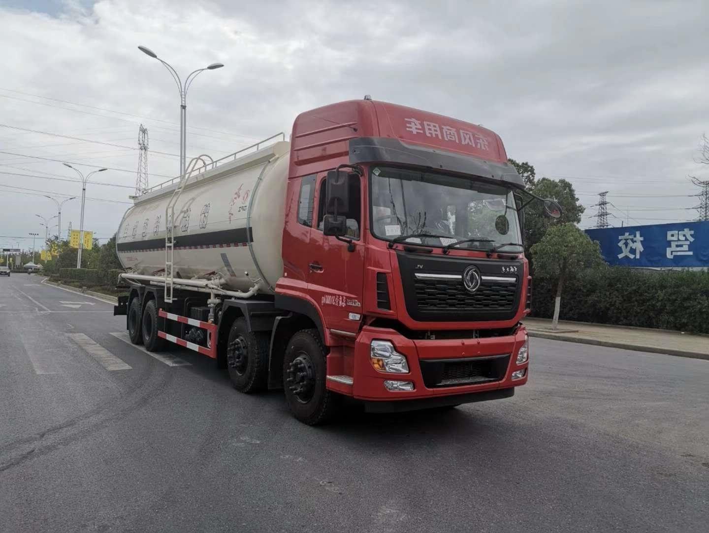 国六散装水泥罐车国五粉粒物料运输车优惠多少