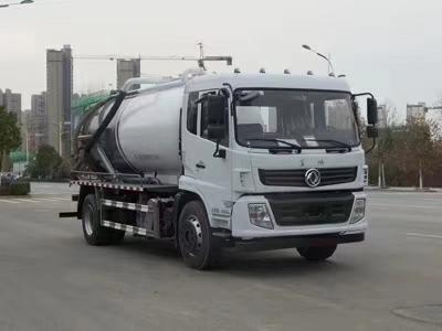 东风专底210马力12.8吨吸污车图片