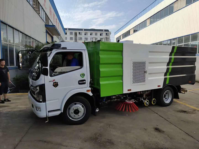 东风国六洗扫吸尘车厂家直销价格最优惠