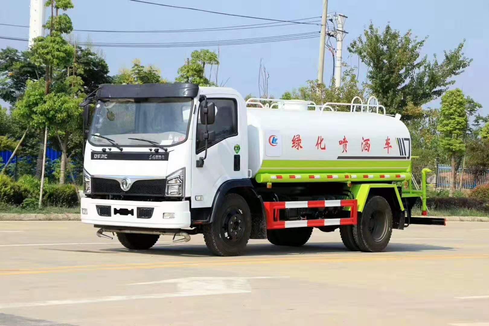 东风大福瑞卡国六洒水车,容积9.2方图片