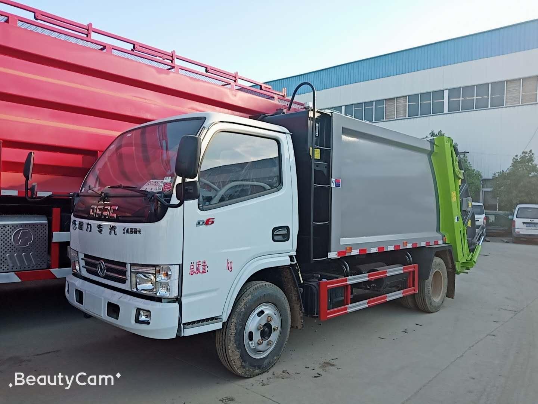 江铃凯锐N800高端压缩式垃圾车厂家,高端大气上档次,高颜值,高性能!图片