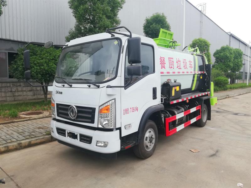 国五餐厨垃圾车安全可靠分类操作