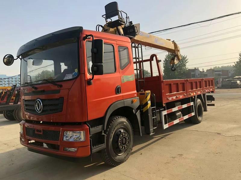 东风特商双联泵随车吊10吨徐工MSQS250-4吊机10