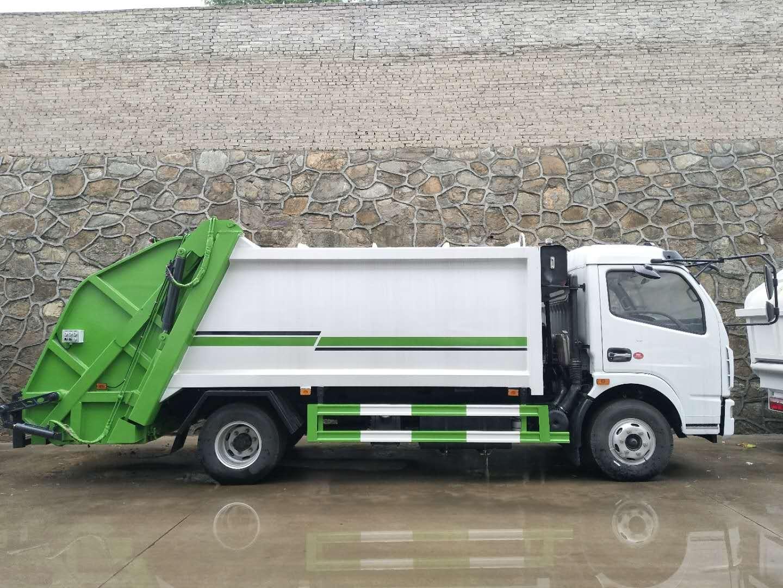 8方压缩垃圾车价格,东风8方垃圾车厂家直销图片