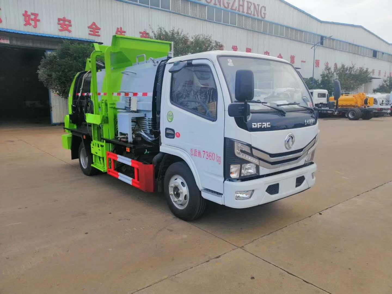 国六东风5方餐厨垃圾车新品首发图片