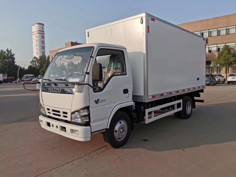 庆铃五十铃KV600冷藏车图片