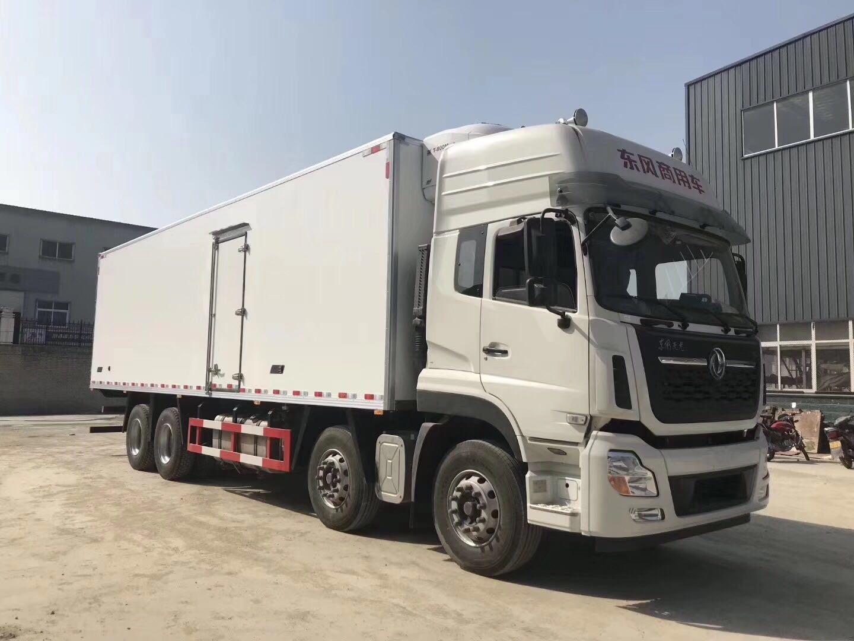 天龙9.6米冷藏车图片