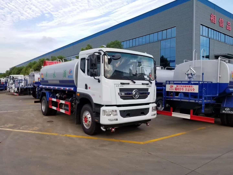 福田15吨洒水车170马力爬坡强厂家现车价格视频