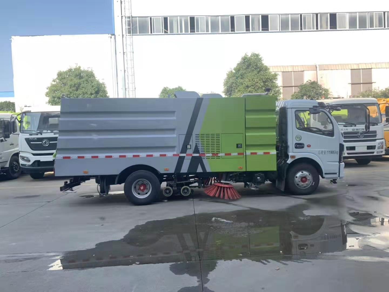 洗掃車加裝道路清洗裝置視頻洗掃車價格洗掃車報價