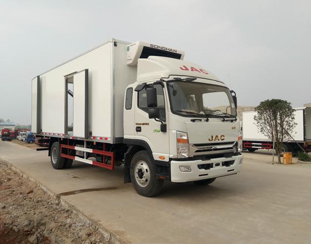 江淮威司达7.5米冷藏车厂家低价促销图片