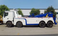 豪沃50吨重型清障车