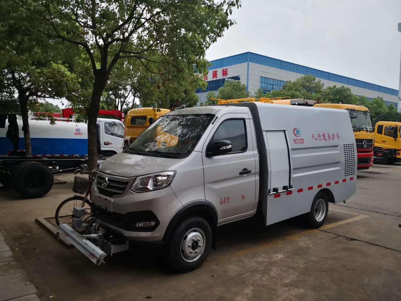 国六长安高压多功能清洗车 程力环卫车厂家图片
