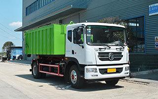 建筑垃圾对接垃圾车方位图图片