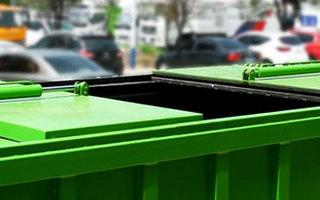 建筑垃圾对接垃圾车细节图图片