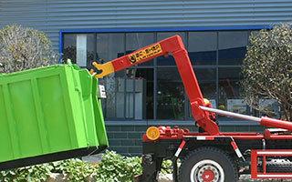 建筑垃圾对接垃圾车厂家直销图片