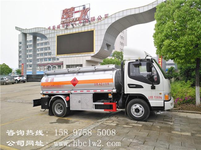 江淮5吨加油车图片
