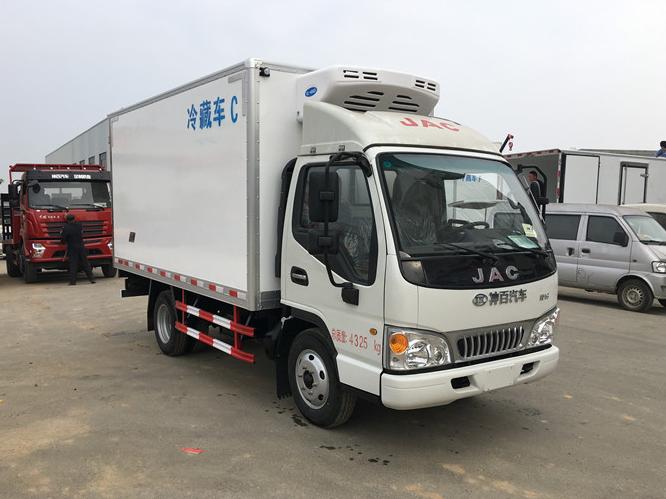 江淮康铃3.7米冷藏车最新价格图片