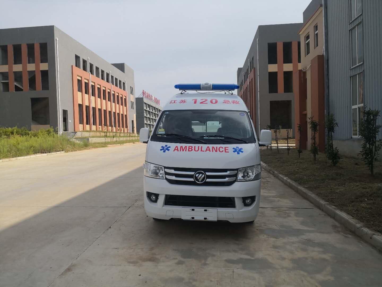 福田g7救护车图片