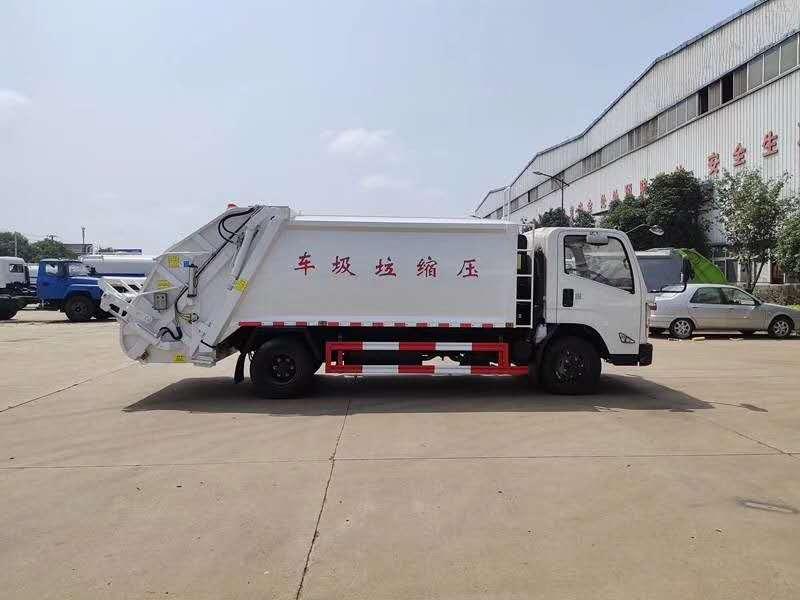 江铃凯瑞压缩垃圾车通用配件有哪些_江铃压缩垃圾车图片