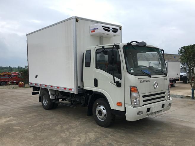 大运排半3.75米冷藏车送货上门 可分期  质量保证图片