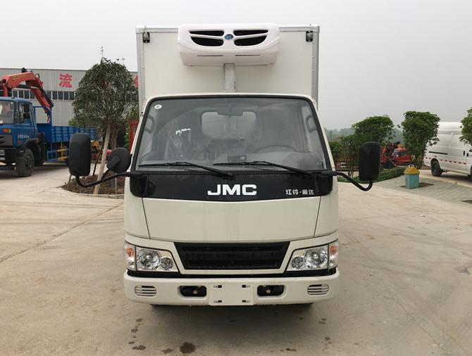 江铃新顺达国五4.2米冷藏车品牌冷藏翈图片