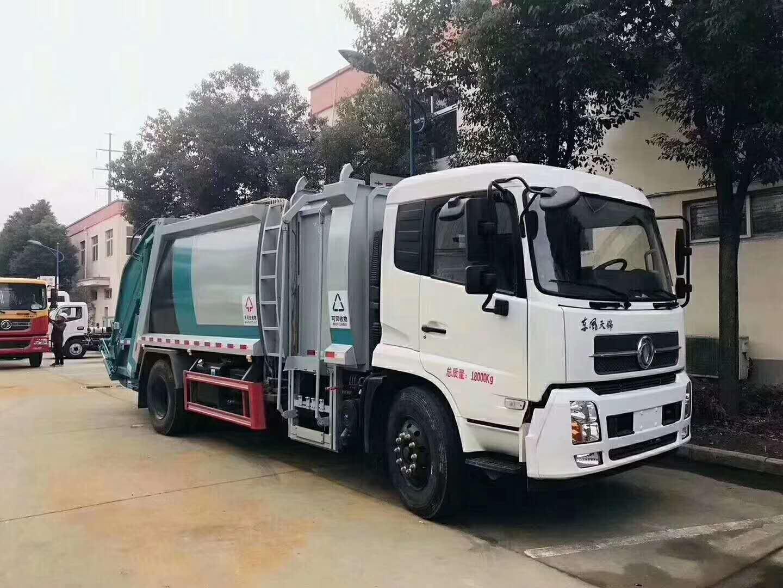 东风天锦垃圾分类压缩垃圾车厂家图片