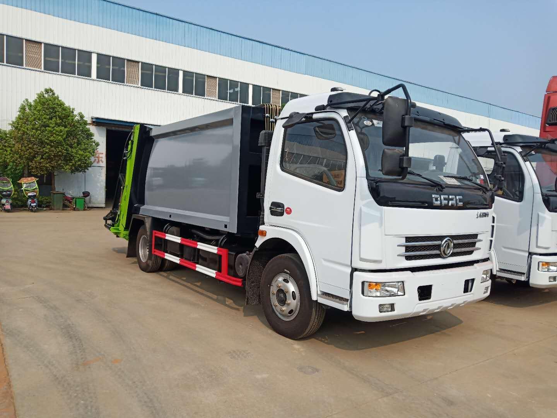 国五6吨压缩垃圾车厂家视频