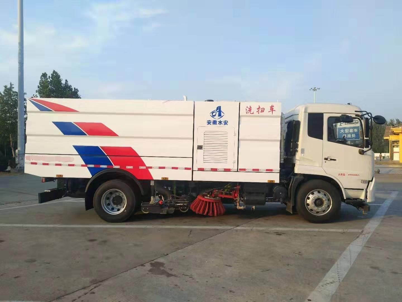 东风原厂精品洗扫车一台,国六全新排放标准视频