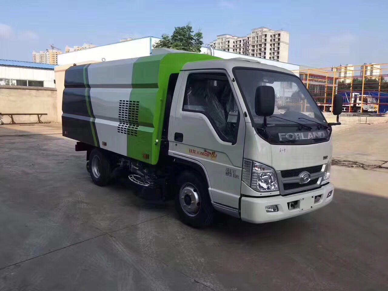 小型扫路清洗车厂家报价在哪里买小型福田扫路车图片