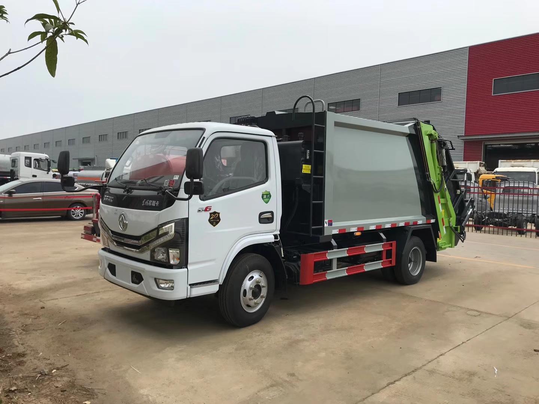 国六东风D6小多利6方压缩垃圾车图片