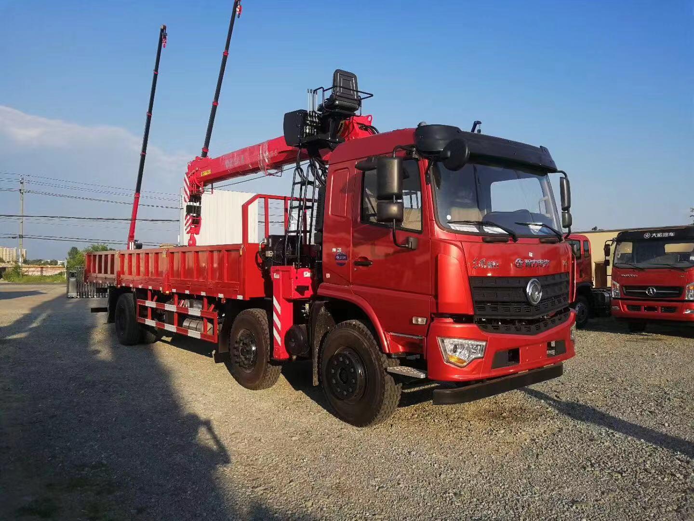 (8-12吨吊机)随车起重运输车