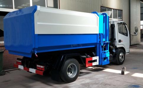 东风多利卡挂桶垃圾车厂家价格多少钱视频