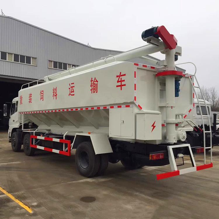 东风天锦20吨散装饲料车 15271321777