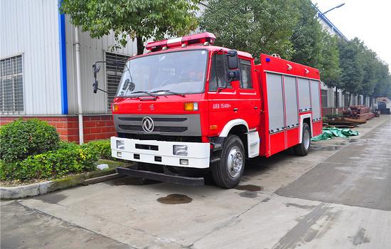 东风153双排水罐消防车价格报价图片