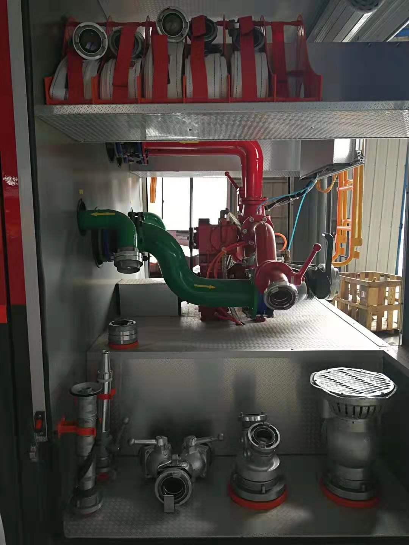 国三不上户40泵水罐消防车厂家图片