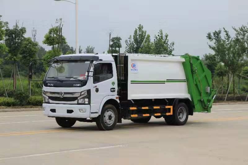 國六東風凱普特壓縮垃圾車