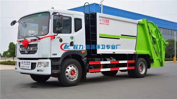 國六東風D9壓縮垃圾車12方圖片