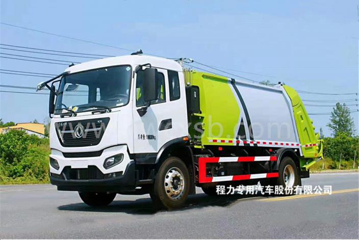 东风天锦压缩式垃圾车(国六12-14方)