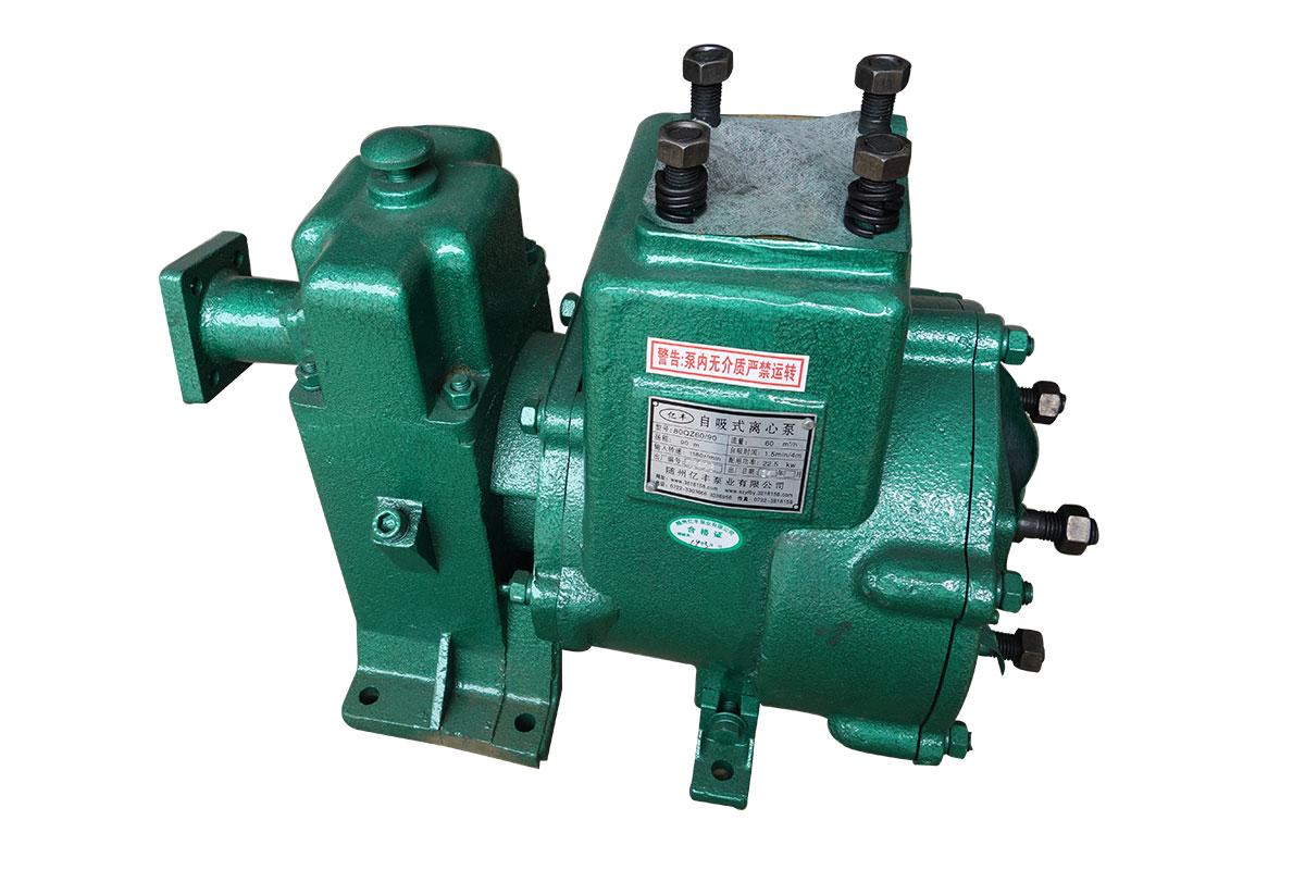 亿丰洒水泵80QZF-60/90洒水泵程力洒水车洒水泵图片