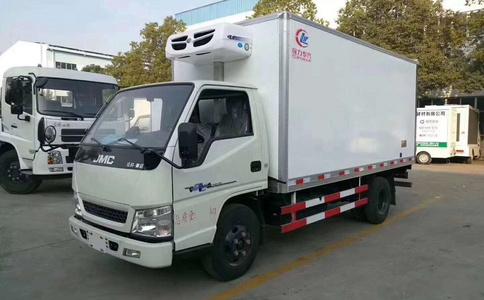 江鈴順達4.2米寬體冷藏車 4米冷藏車價格 冷藏車廠家直銷