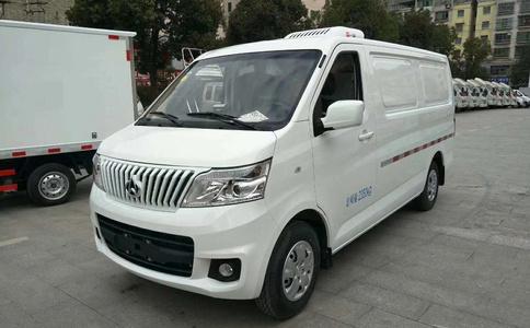 国六长安睿行M80面包冷藏车 国六面包冷藏车价格图片
