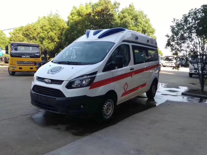 福特全顺V362救护车视频