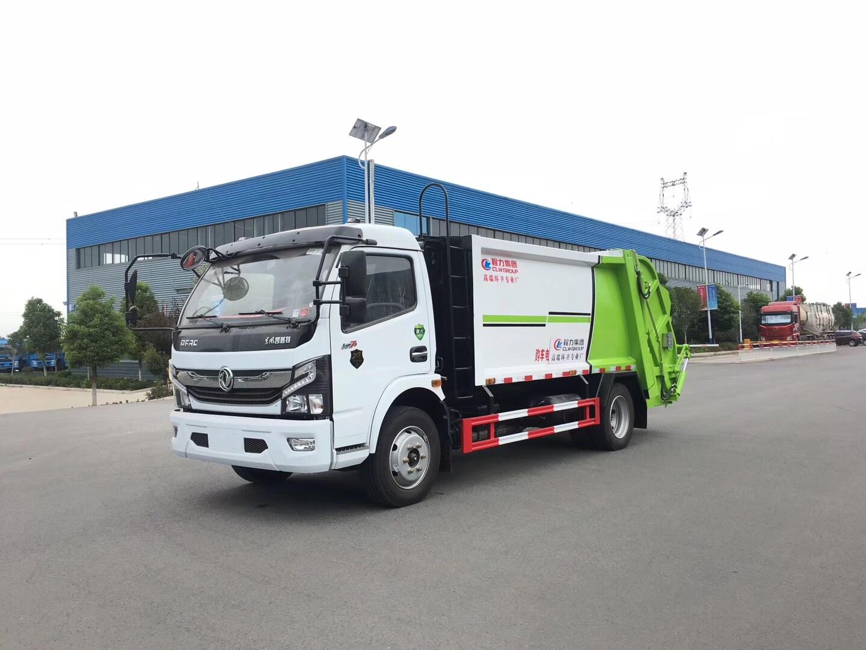 国六东风开普特多利卡8方压缩式垃圾车