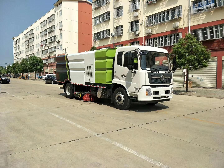 东风天锦国六洗扫车图片